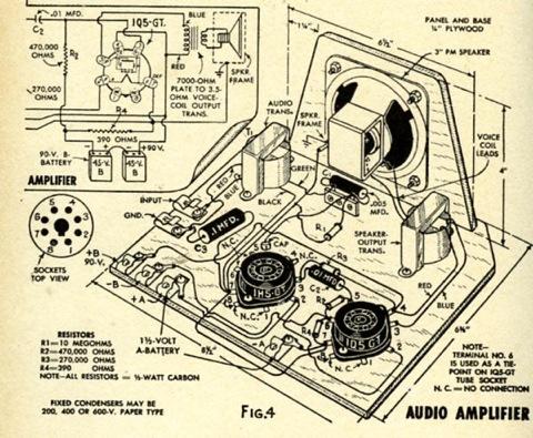 Amplifier Battery Battery Valve Tube Amplifier